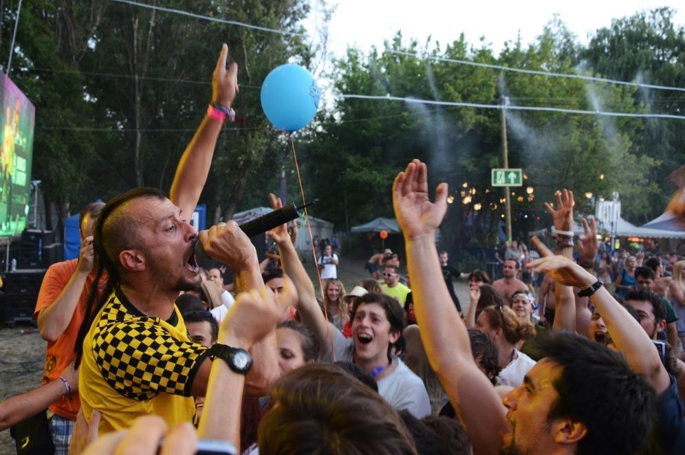 Dubioza Kolektiv at Sziget 2013