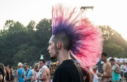 A hairstyle for the sunset.