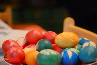 Easter in the making