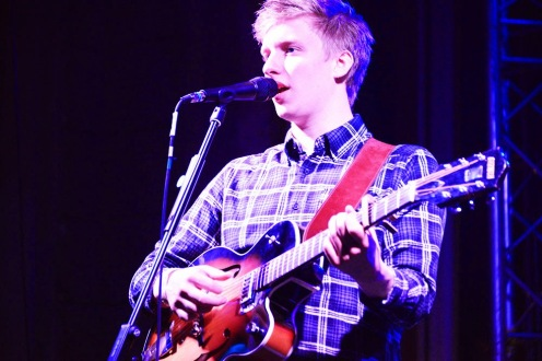 George Ezra at Budapest Essentials 2014