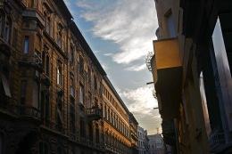 Late afternoon light in Terézváros