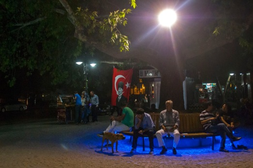 Evening in Ankara