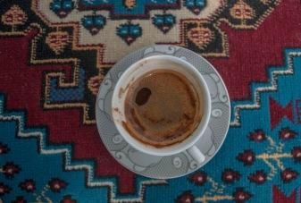 Turkish coffee in Cappadocia