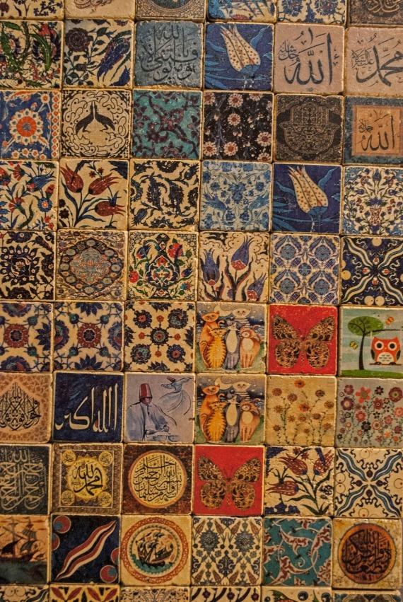 Cappadocian tiles