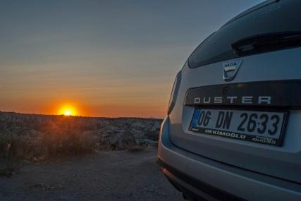 Duster in the Cappadocian sunset