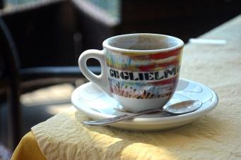 Espresso in Taormina