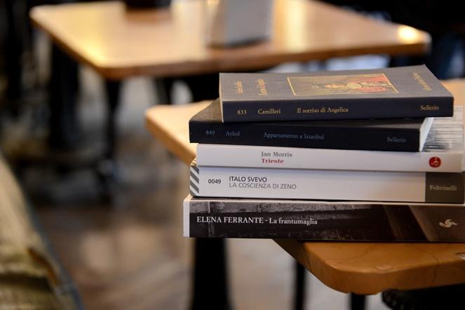 Book haul in Trieste