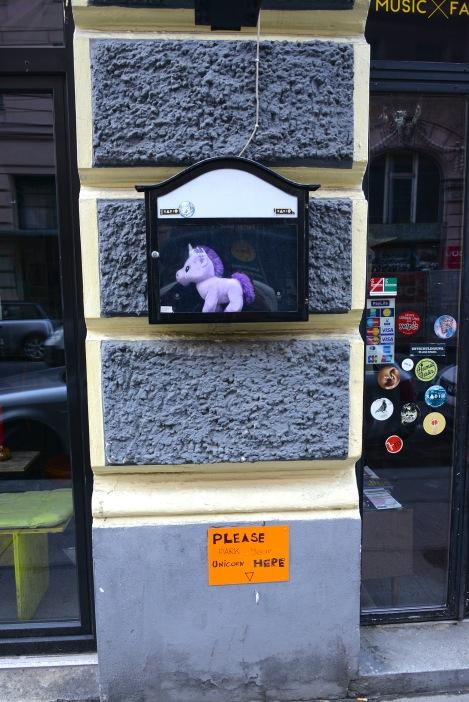 Unicorn parking