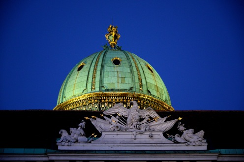 Gilded roofs of Vienna