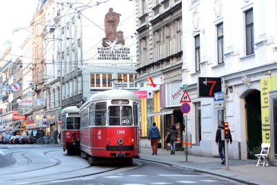 Viennese trams