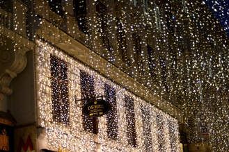 Christmas lights on Kohlmarkt