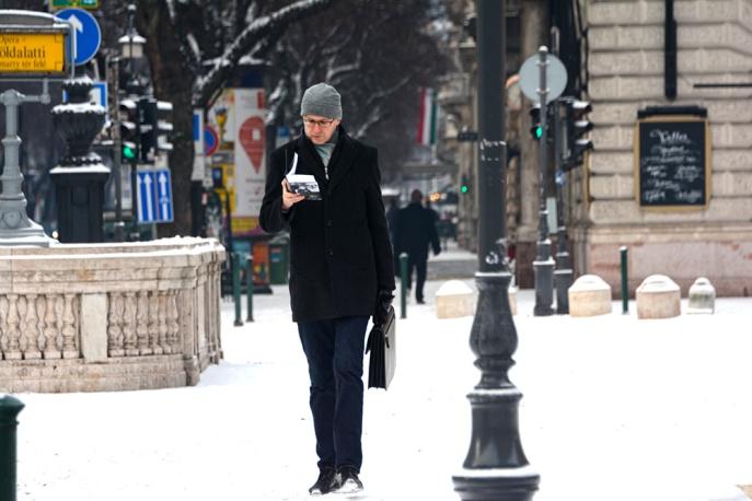Snowy reader