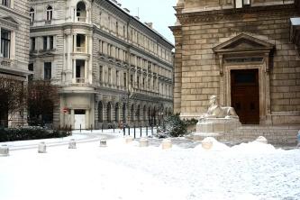 Opera with snow