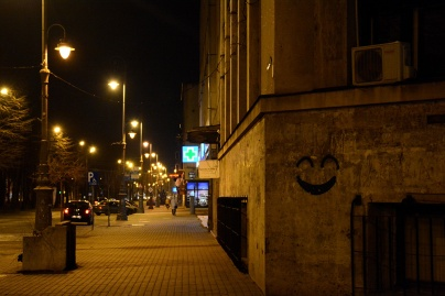 Arad by night