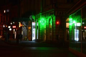 Arad by night