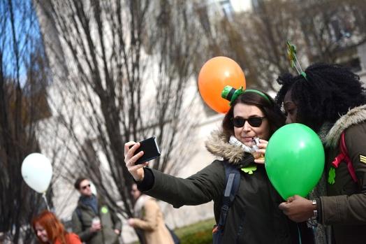 The Budapest Saint Patrick's Day Parade 2017