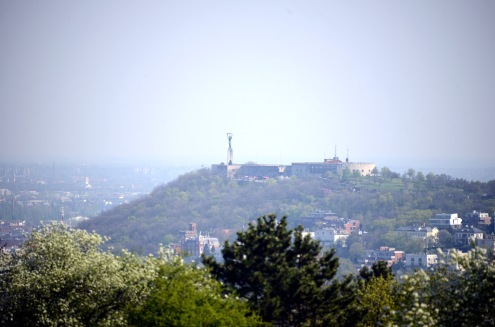 View from Kis-Sváb-hegy