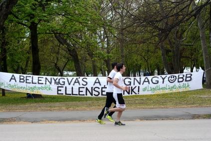Running in Városliget