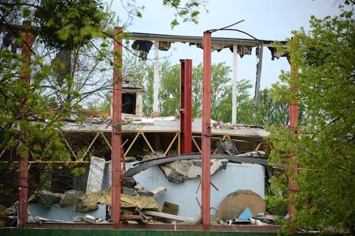 What is left of Petőfi Csarnok