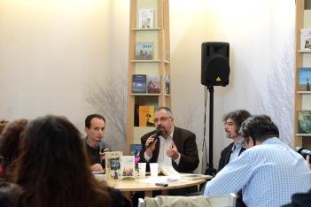 Dan Lungu at the 24th Budapest International Book Festival