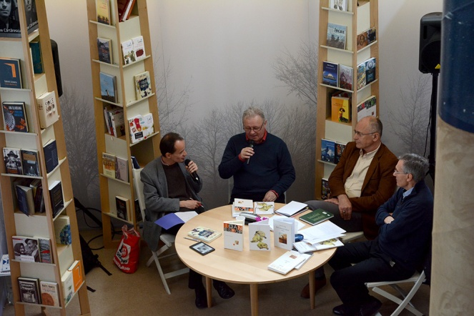 Ioan Es. Pop at the 24th Budapest International Book Festival
