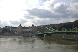 Freedom Bridge and the Gellért hotel