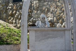 The statue of Károly Kós