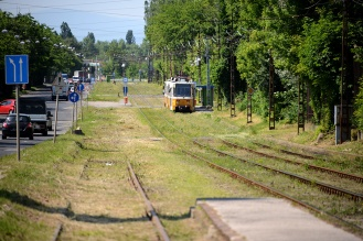 Tram 28 in Kőbánya