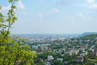 View from Mátyás-hegy