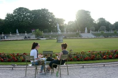 Le Jardin du Luxembourg/Luxembourg Garden