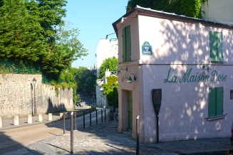 Utrillo's Pink House