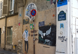 Walls of Montmartre