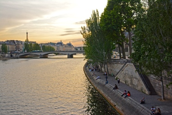 Paris by the Seine