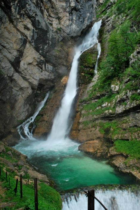 Savica waterfalls 2011