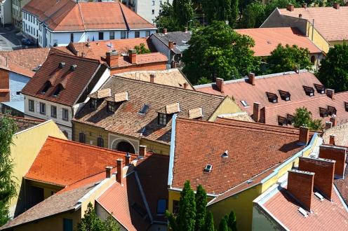 Eger rooftops