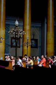 In Eger Cathedral