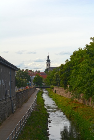 Eger- with the Serbian church on the horizon