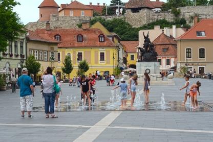 Eger Main Square