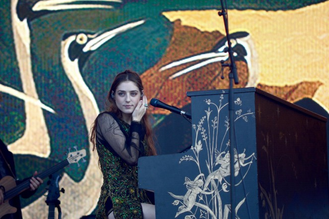 Birdy at Sziget 2017