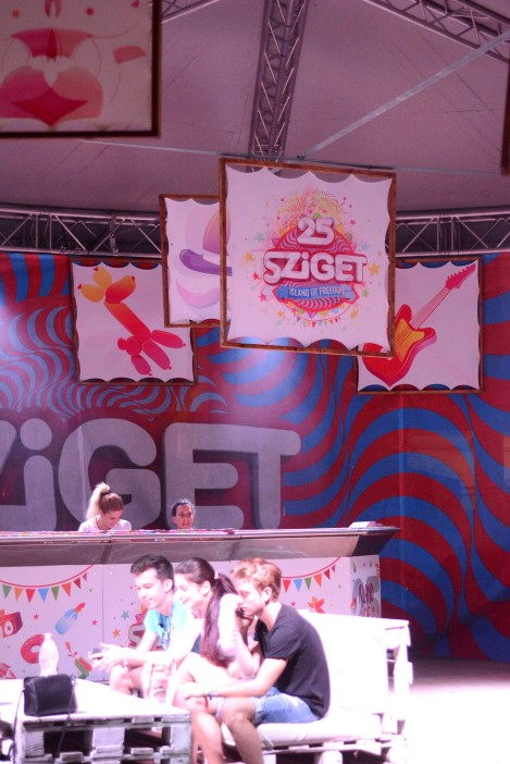 Sziget Number 25- one day to go