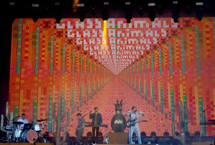 Glass Animals at Sziget 2017