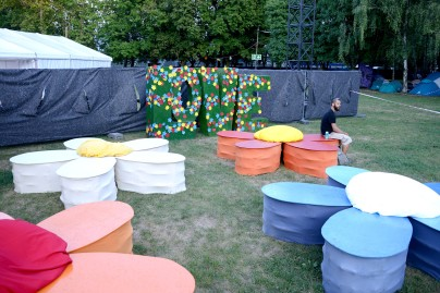 Sziget Number 25 shaping up