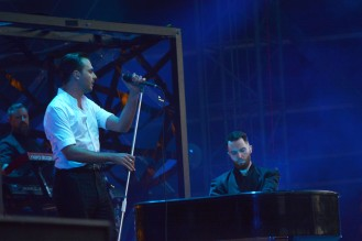 Hurts at Sziget 2017