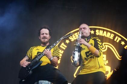 Dubioza Kolektiv at Sziget 2017