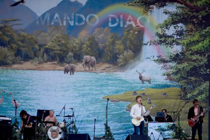 Mando Diao at Sziget 2017