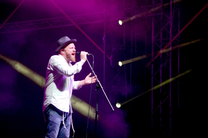 Alex Clare at Sziget 2017