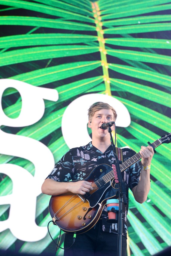 George Ezra at Sziget 2017