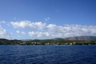 Eastern coast of Zakynthos