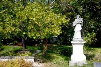 Saint John Nepomuk's statue in Etyek