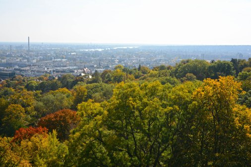 Autumn of Gellért Hill